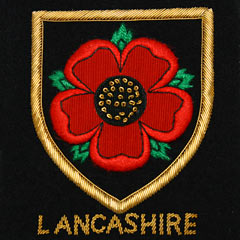 Lancashire Rose Blazer Badge