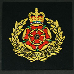 Duke of Lancasters Silk Blazer Badge