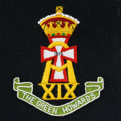 Green Howards Silk Cloth Blazer Badge - KC Image 2