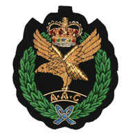 Army Air Corps Wire Blazer Badge