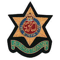 Burma Star Association Wire Blazer Badge