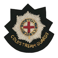 Coldstream Guards wire blazer badge