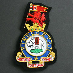 Duke of Wellingtons Regiment Wire Blazer Badge