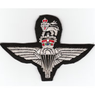 Parachute Regiment Wire Blazer Badge