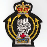 Royal Canadian Armoured Corps Blazer Badge