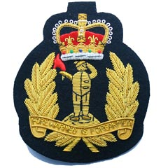 Royal Observer Corps Wire Blazer Badge