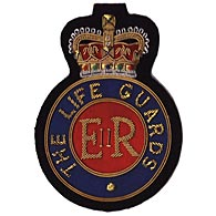 The Life Guards wire blazer badge