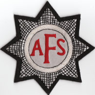 Auxiliary Fire Service Blazer Badge