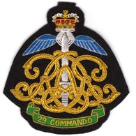 29 Commando Royal Artillery Blazer Badge (2)