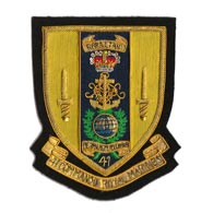 41 Commando Blazer Badge