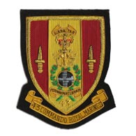 43 Commando Blazer Badge