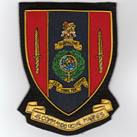 45 Commando Blazer Badge