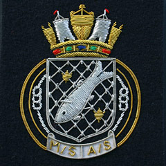 Royal Navy Patrol Blazer Badge