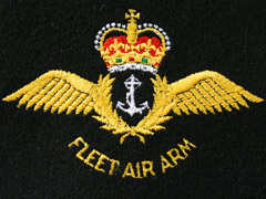 Fleet Air Arm Silk Blazer Badge