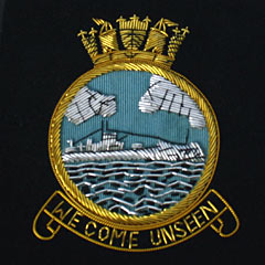 Submariners - We Come Unseen - Wire Blazer Badge