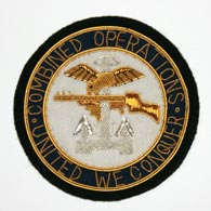 Combined Operations Blazer Badge