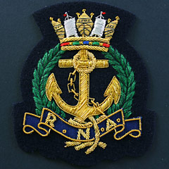 Royal Navy Association Blazer Badge