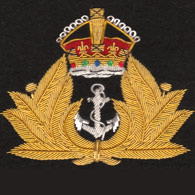 Royal Navy George 6th Blazer Badge
