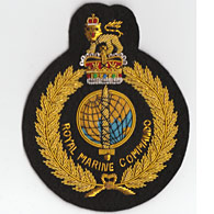 Royal Marine Commando Blazer Badge
