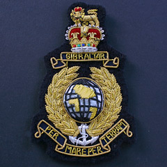Royal Marines Wire Blazer Badge : Products on the
