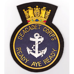 Sea Cadet Corps Blazer Badge