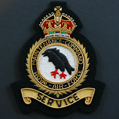 RAF Maintenance Command GVIR Blazer Badge