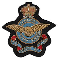 Canadian  RAF wire blazer badge