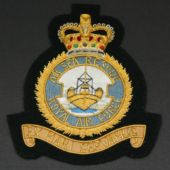 RAF Air Sea Rescue Wire Blazer Badge