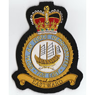 Far East Airforce HQ RAF Wire Blazer Badge