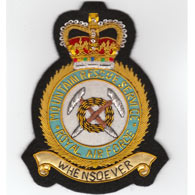 RAF Mountain Rescue Service wire blazer badge
