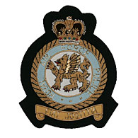 RAF Police wire blazer badge
