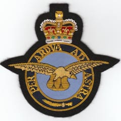 RAF seconds Blazer badge
