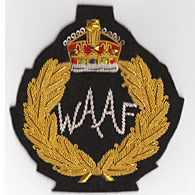 WAAF wire blazer badge