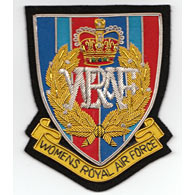 WRAF blazer badge