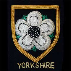 Yorkshire Rose Blazer Badge
