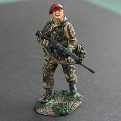Britains Elite Series - Paratrooper Falklands 1982