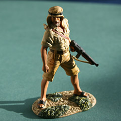 Britains Elite Series - British SAS WW2 1942 Image 2