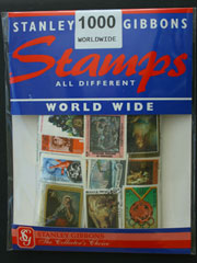 1000 Worldwide Stamps by Stanley Gibbons