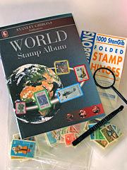 World Stamp Album Starter Set