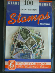100 GB Stamps by Stanley Gibbons