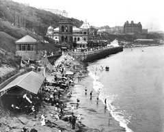 Historic photo of the Spa Scarborough