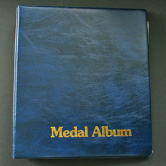 Medal Album - Blue Binder