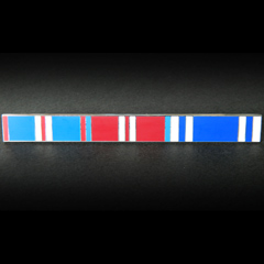 Golden, Diamond Jubilee and Police LSGC Ribbon Bar