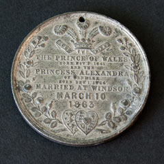 1863 Royal Wedding Medallion (1)
