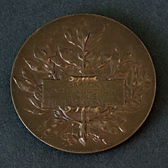 1939 Bronze Art Medallion