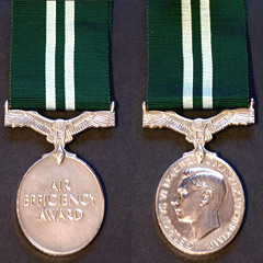 Air Efficiency Award medal Image 2