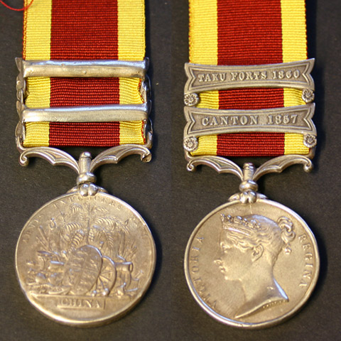 China War Medal 1857-60