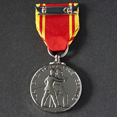 Fire Brigade Long Service Boxed Medal
