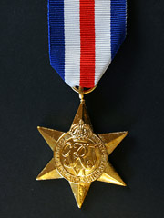 France and Germany Star medal