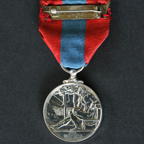 EIIR Imperial Service Medal boxed